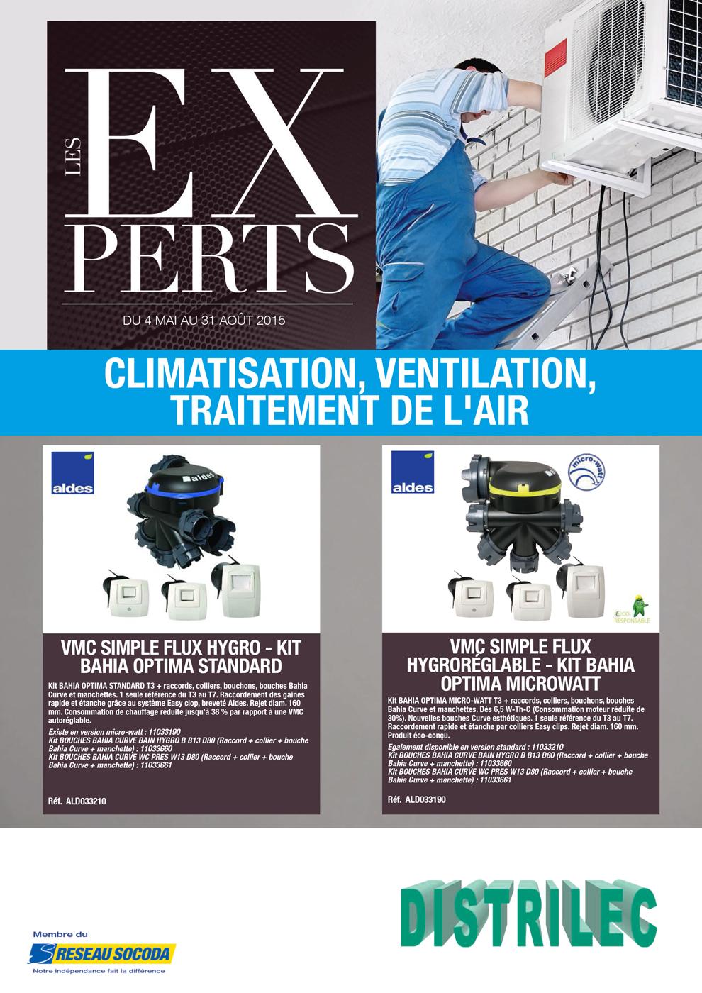 socoda distrilec distrilec climatisation ventilation traitement de l 39 air mai 2015 page 1. Black Bedroom Furniture Sets. Home Design Ideas